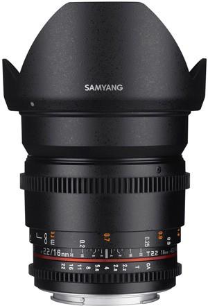 16mm Samyang T2.2