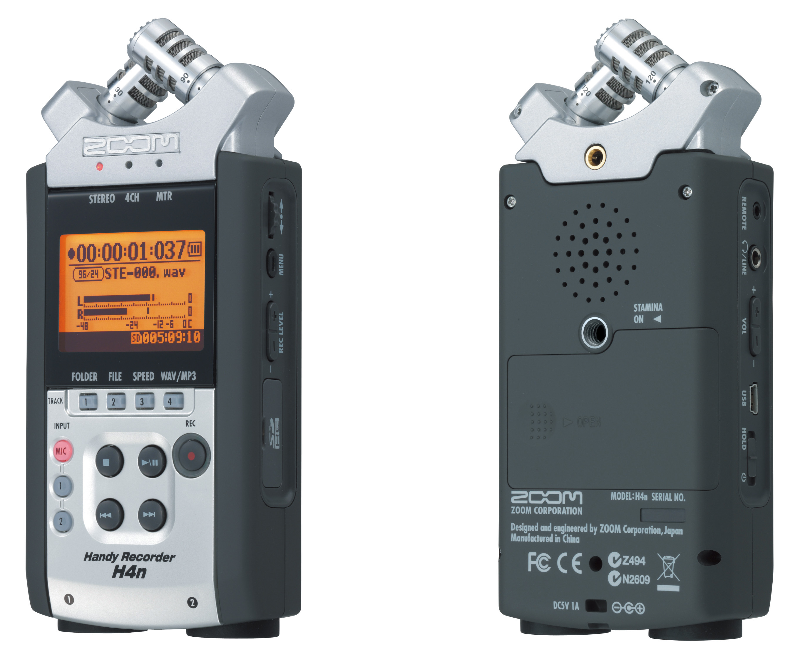 Recorder Zoom H4n