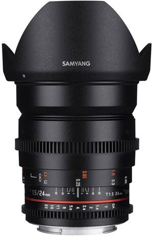 24mm Samyang T1.5