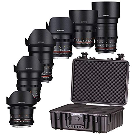 Lenses Package 16, 24, 35, 50, 85, 70-200mm