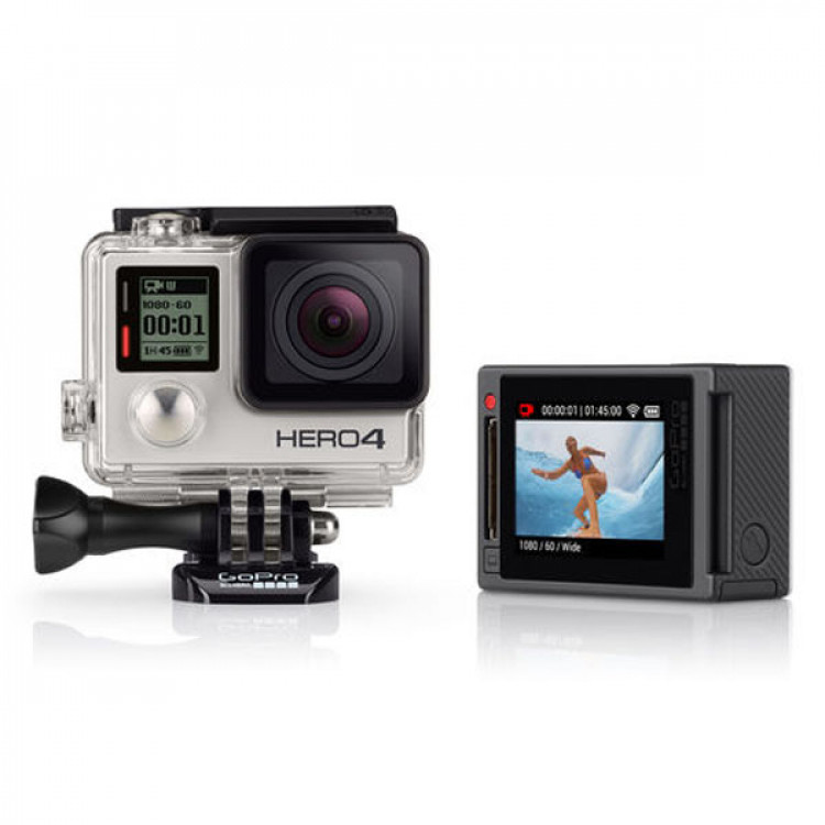 GoPro Hero 4 Silver Package