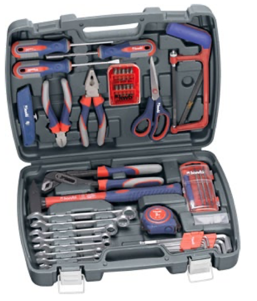 Set of basic tools